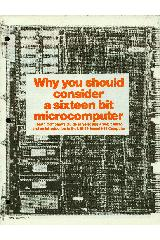 Why you should consider a sixteen bit microcomputer