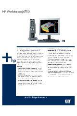 HP Workstation j6750