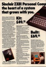 ZX81 personal computer