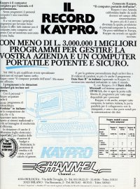 Kaypro Corp. (Non-linear system)