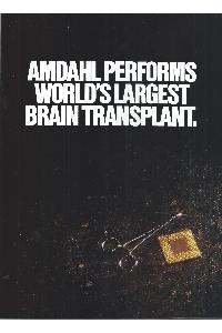 Amdahl Corp. - Amdahl performs World's largest brain transplant