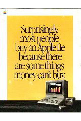 Surprisingly, most people buy an Apple IIe ...