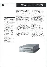 Apple Computer Inc. (Apple) - AppleCD 300e Plus and AppleCD 300i Plus
