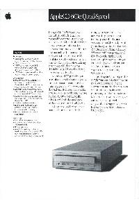 Apple Computer Inc. (Apple) - AppleCD600e Quad-Speed