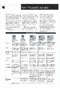 Apple Computer Inc. (Apple) - Power Macintosh computers