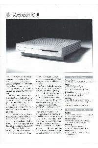 Apple Computer Inc. (Apple) - Macintosh LC III
