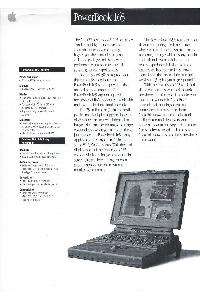 Apple Computer Inc. (Apple) - PowerBook 165