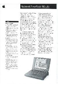 Apple Computer Inc. (Apple) - Macintosh PowerBook 190cs/66