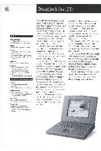 Apple Computer Inc. (Apple) - PowerBook Duo 270c