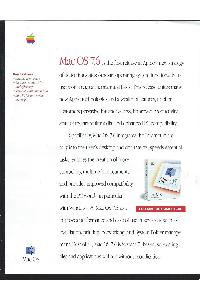 Apple Computer Inc. (Apple) - Mac OS 7.6