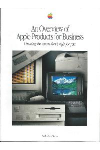 Apple Computer Inc. (Apple) - An overview of Apple products for business