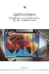Apple Computer Inc. (Apple) - Apple Color Systems