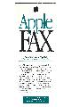 Apple Computer Inc. (Apple) - Apple Fax