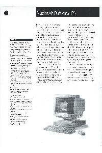Apple Computer Inc. (Apple) - Macintosh Performa 475