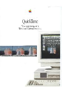 Apple Computer Inc. (Apple) - Quicktime