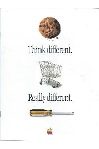 Apple Computer Inc. (Apple) - Think different