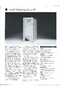 Apple Computer Inc. (Apple) - Apple Workgroup Server95