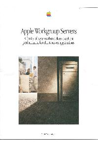 Apple Computer Inc. (Apple) - Apple Workgroup Servers