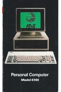 AT&T Information System - Personal Computer Model 6300