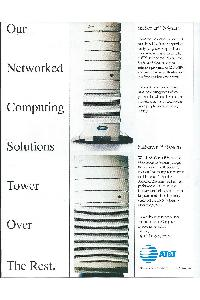 AT&T Information System - Our networked computing solutions tower over the rest