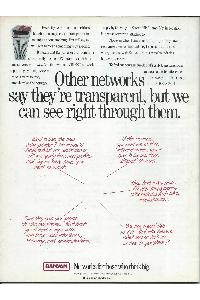 Banyan - Other networks say they're transparent, but we can see right through them