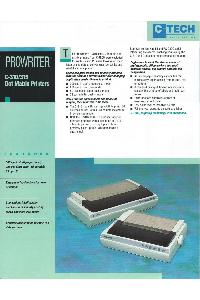 C-Tech Electronics Inc. - ProWriter C-310/315 Dot Matrix Printer
