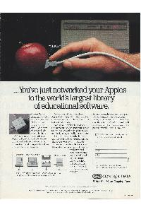 Control Data CD - You've just networked your Apples to the worlds largest libray of educational software