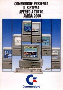 Commodore presenta il sistema aperto a tutto. Amiga 2000.