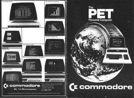 Commodore Business Machines - The PET personal computer