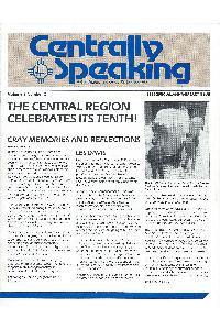 Cray Inc. - Centrally speaking 1986 Special Issue