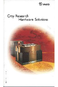 Cray Inc. - Cray Research Hardware solutions