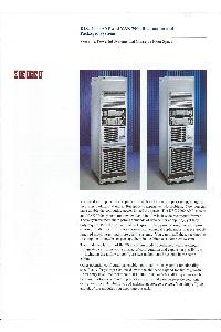 Digital Equipment Corp. (DEC) - DEC 7000 AXP and VAX 7000 rackmount and packaged systems