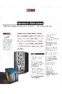 Digital Equipment Corp. (DEC) - Alpha Server 1000A System