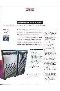 Digital Equipment Corp. (DEC) - Alpha Server 8000 Systems
