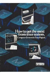 Digital Equipment Corp. (DEC) - How to get the most from your system