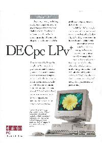 Digital Equipment Corp. (DEC) - DECpc LPv+
