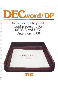 Digital Equipment Corp. (DEC) - DECword/DP