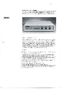 Digital Equipment Corp. (DEC) - DF242 Schola rPlus Modem