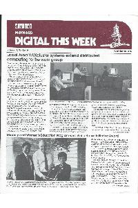 Digital Equipment Corp. (DEC) - Digital This Week Nov 10-1986