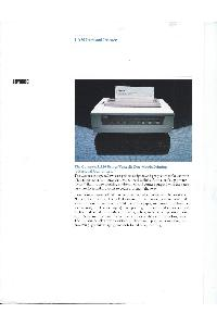 Digital Equipment Corp. (DEC) - LA50 Personal Printer