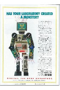 Digital Equipment Corp. (DEC) - Has your laboratory created a monster?