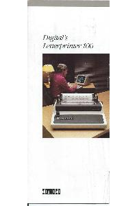 Digital Equipment Corp. (DEC) - Digital's Letterprinter 100