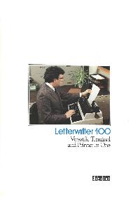 Digital Equipment Corp. (DEC) - LetterWriter 100