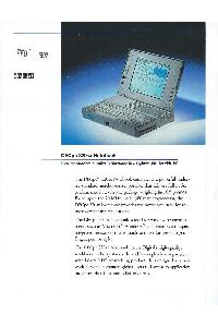 Digital Equipment Corp. (DEC) - DECpc 320SX Notebook
