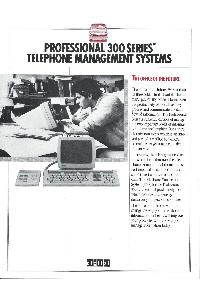 Digital Equipment Corp. (DEC) - Professional 300 Series telephone management systems