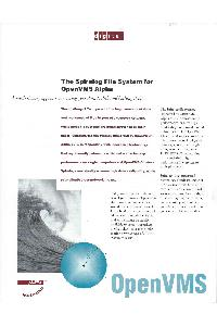 Digital Equipment Corp. (DEC) - The Spiralog File System For OpenVMS Alpha