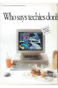Digital Equipment Corp. (DEC) - Who says techies don't have power lunches