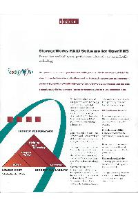 Digital Equipment Corp. (DEC) - Storageworjs RAID software for OpenVMS