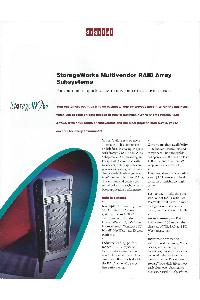 Digital Equipment Corp. (DEC) - StorageWorks Multivendor RAID Array  subsystems