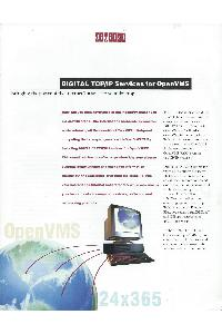 Digital Equipment Corp. (DEC) - Digital TCP/IP Services for OpenVMS